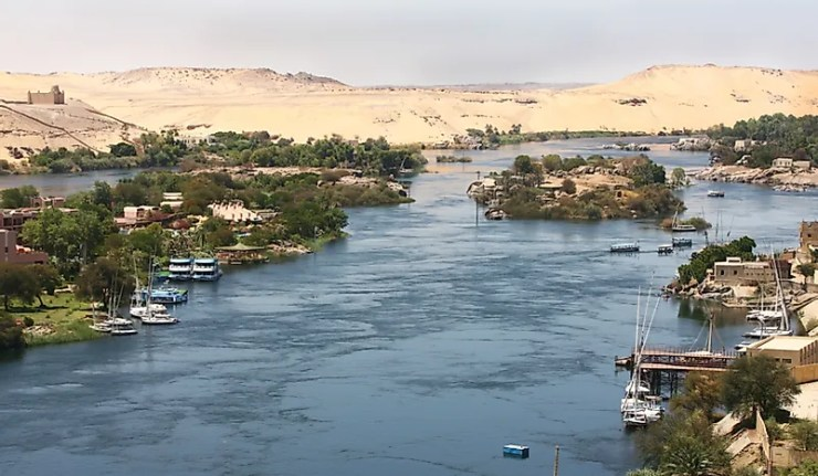 nile river is the longest river in Africa