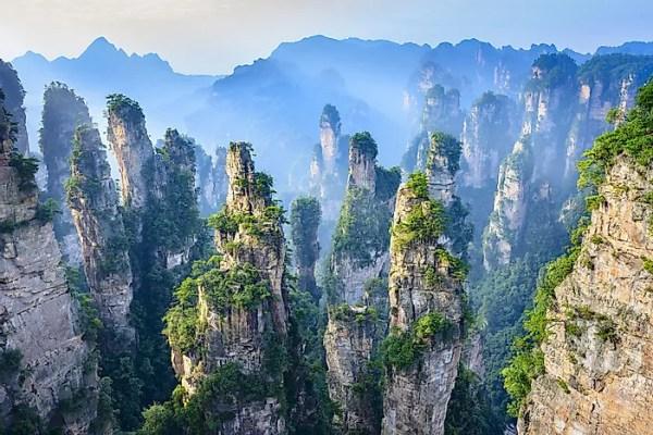 Zhangjiajie National Forest Park - Unique Places Around ...