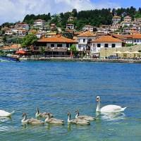 Lake Ohrid; John Misachi; World Atlas