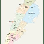 Lebanon Maps Facts World Atlas