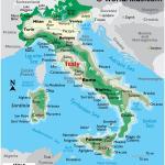Italy Maps Facts World Atlas