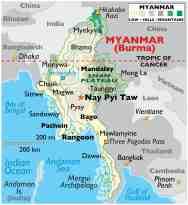 Burma Maps Facts World Atlas