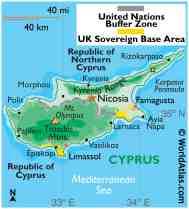Cyprus Maps Facts World Atlas