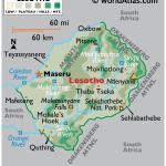Lesotho Maps Facts World Atlas