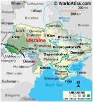 Ukraine Maps Facts World Atlas