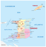 Trinidad And Tobago Maps Facts World Atlas