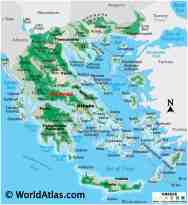 Greece Maps Facts World Atlas