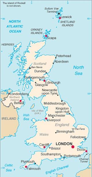 England Latitude Longitude Absolute And Relative