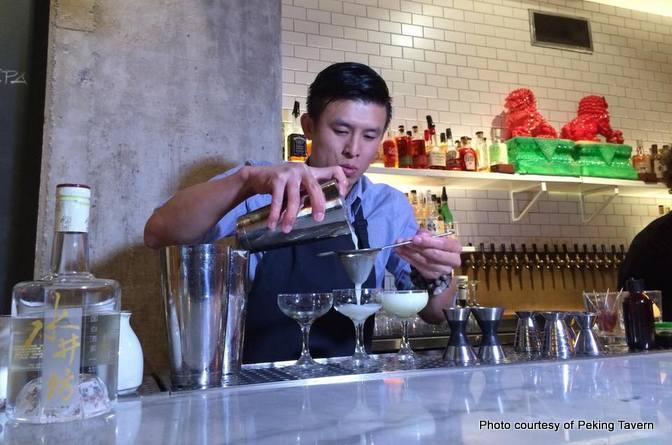 peking tavern los angeles photo for world baijiu day post
