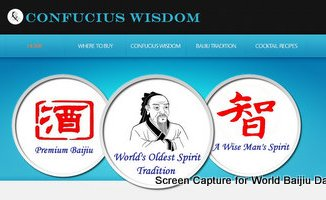 Confucius Wisdom Baijiu United States