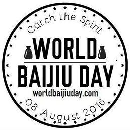 World Baijiu Day Sticker Fun small