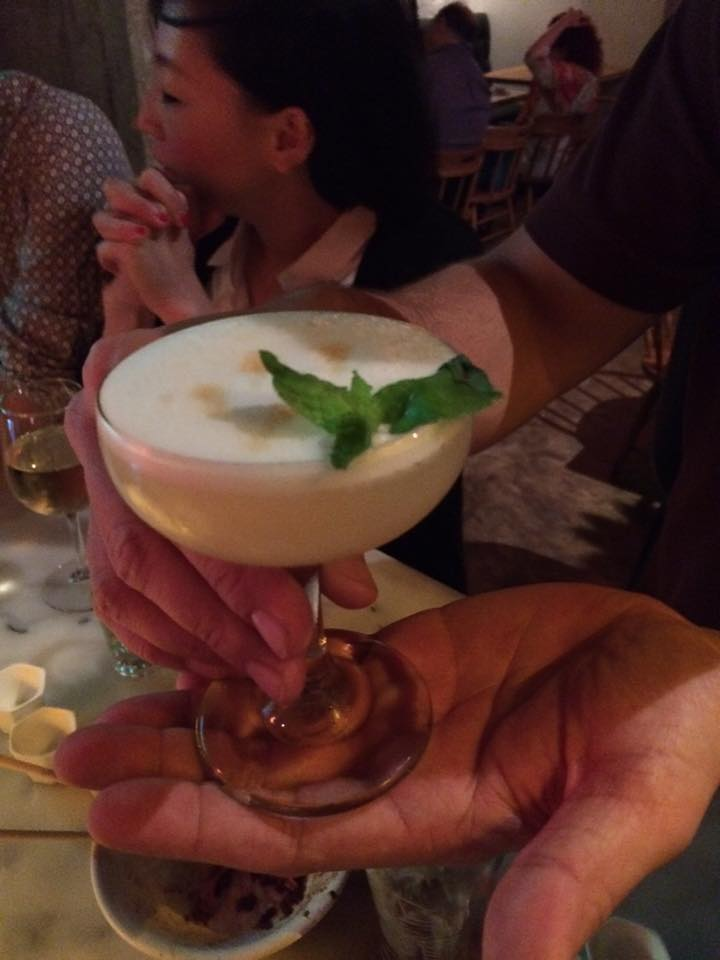 WBD Wrap baijiu sour at peking tavern in los angele peking tavern photo