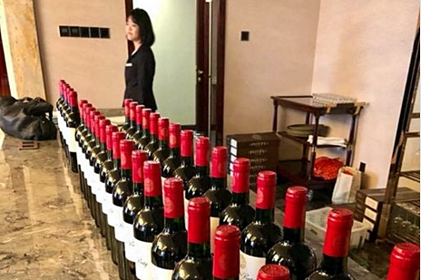 grape wall of china interview with helene ponty photos changsha event