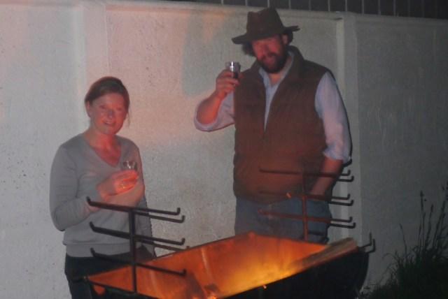 Grillabend bei Bernhard und Sarah