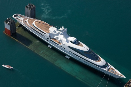 The Worlds Top 10 Largest Yachts In 2015 World Blaze