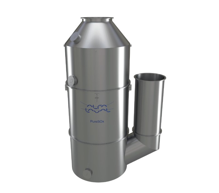 Alfa-Laval's-PureSOx-scrubber-system