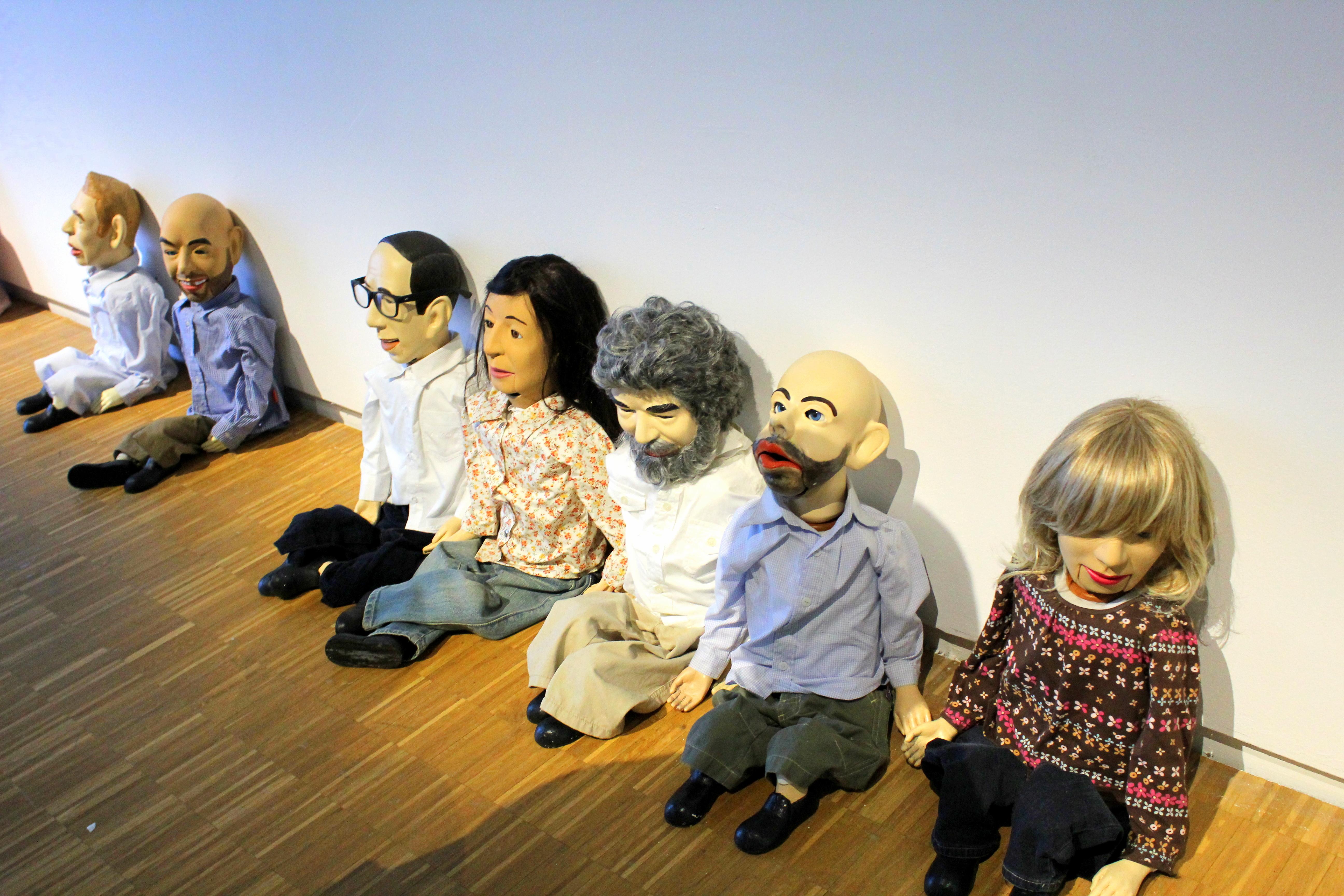 Exhibition in Pompidou Center in Paris