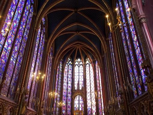 Relikwiarz w Sainte Chapelle