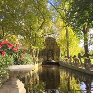 Luxembourg Garden, the Medici Fountain