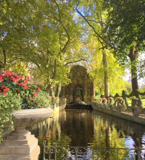 Luxembourg Garden, the Medici Fountain