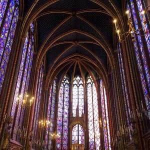 Witraże w Sainte Chapelle