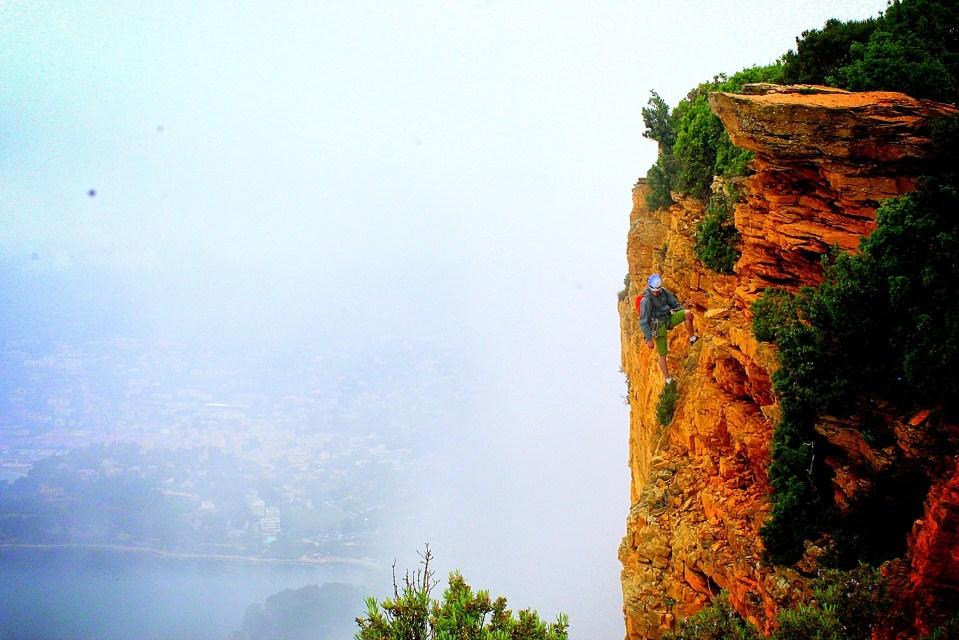 Wspinaczka w okolicach Marsylii