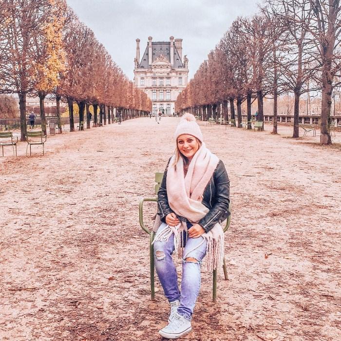Ogrody Tuileries - ogrody koło Luwru