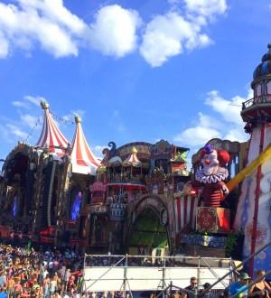 Scena główna na Tomorrowland w 2017 roku