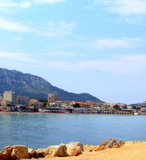 Beach in Marseille