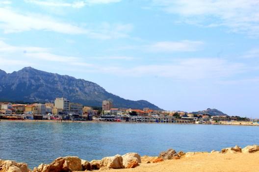 Plaża w Marsylii