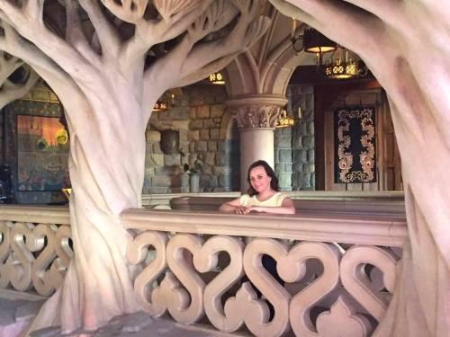 Zamek Śpiącej Królewny w Disneylandzie w Paryżu