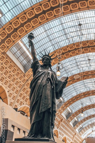 Statue of Liberty at Musée d'Orsay in Paris