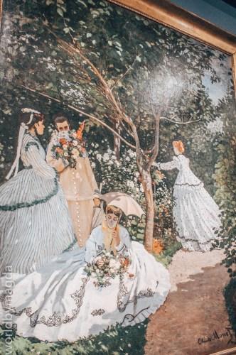 Kobiety w Ogrodzie autorstwa Claude Monet'a w Muzeum Orsay