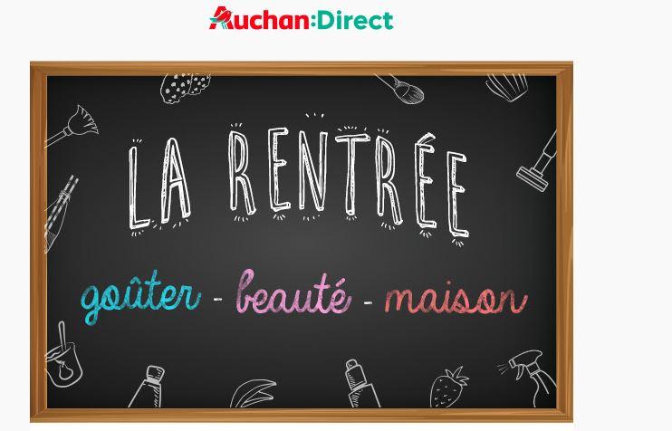 Rentrée Auchan
