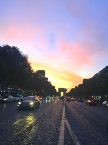 Sylwester w Paryżu.