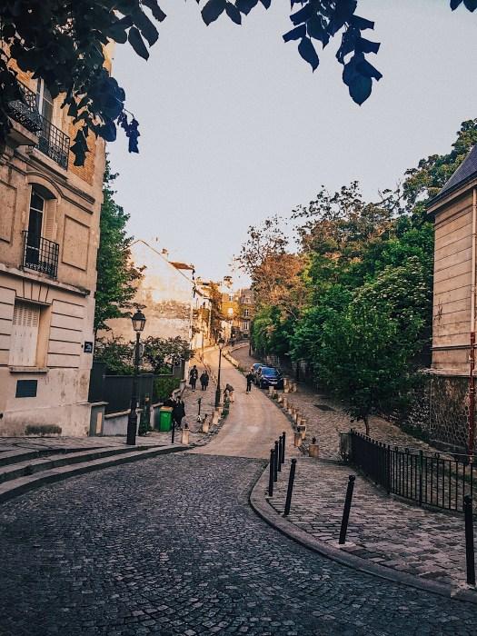 dzielnica Montmarte
