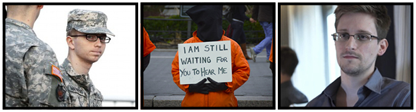 Evening of Conscience at Cooper Union for Bradley Manning, Edward Snowden, and the prisoners at Guantanamo