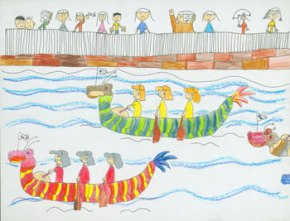 Female Dragon Boat Race!