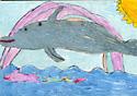 Pretty Dolphin by Maggie F., Ticonderoga, NY