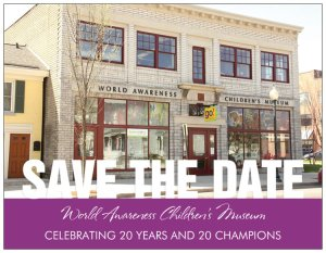 20th anniversary save the date