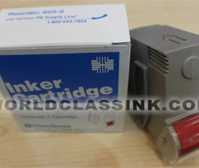 Pitney Bowes 625 2 Ink Cartridge