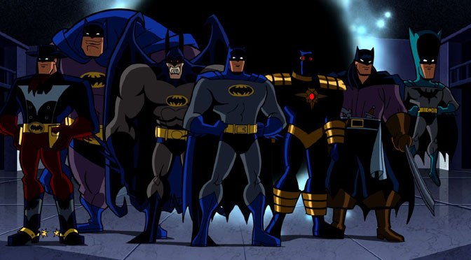 Batman: a Study of Homages