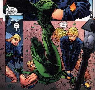 green arrow black canary pages