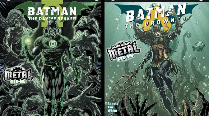 Batman: The Dawn Breaker #1 v. Batman: The Drowned #1 (comparative review)