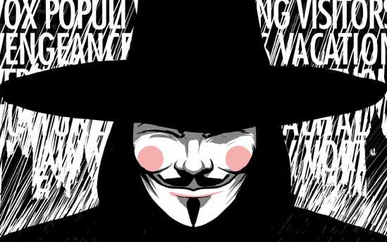 Thirty Years of V for Vendetta