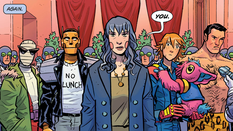 Doom Patrol #11 (Review)