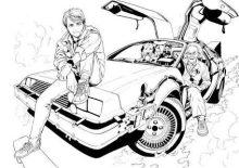 back to the future manga imga 4