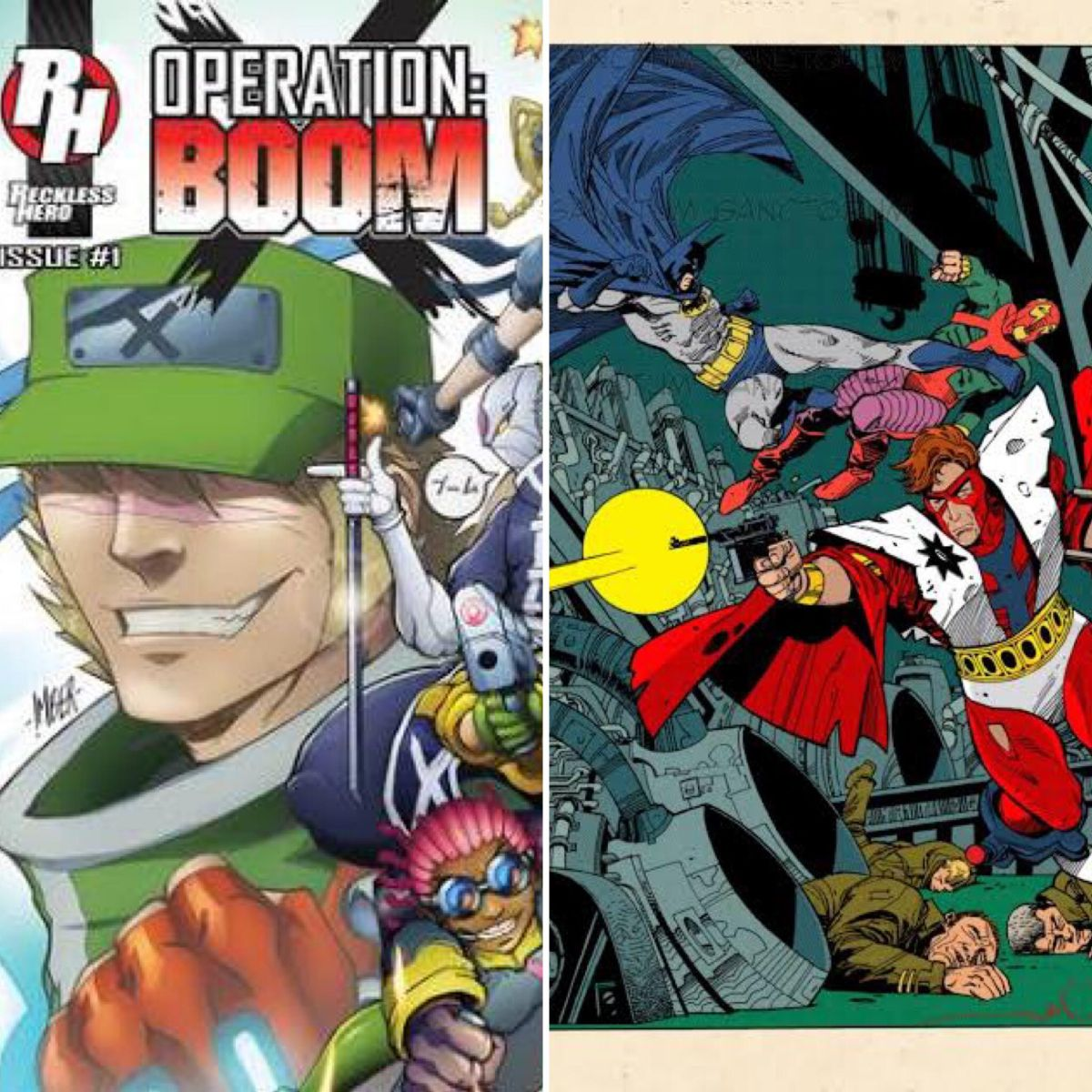 "Operation: Boom! #1-3  v. Detective Comics #443 - ""Gotterdammerung!"" (comparative review)"