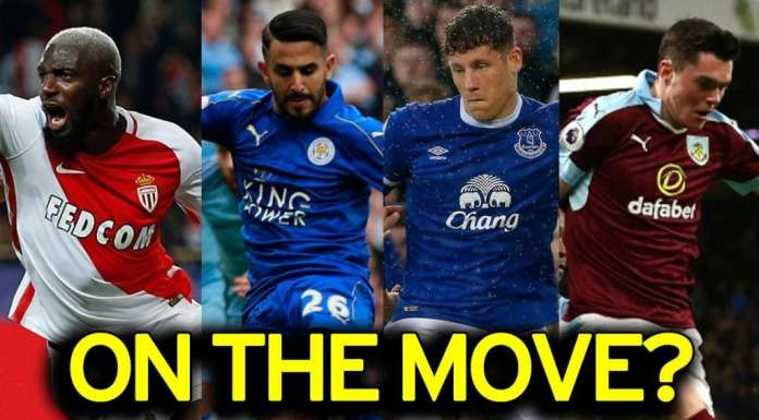 Completed Summer Soccer Transfers