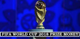 Fifa World Cup 2018 Prize Money